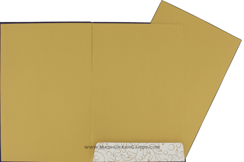 Hindu Wedding Cards - HWC-9034BG - 4