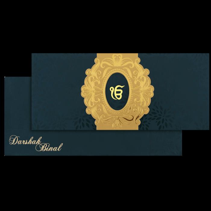 test Sikh Wedding Cards - SWC-15117S