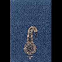 Fabric Wedding Cards - FWI-9036BG