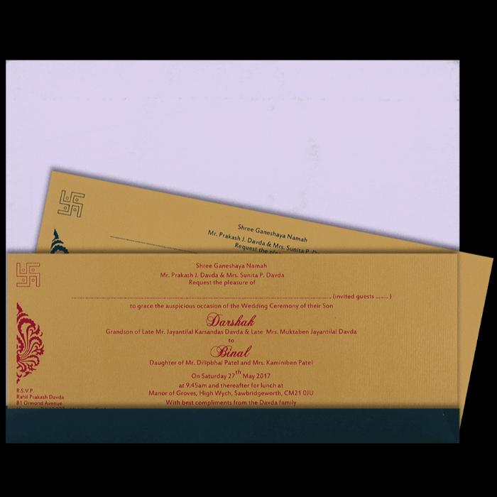 Thread Ceremony Invites - TCI-15117I - 3