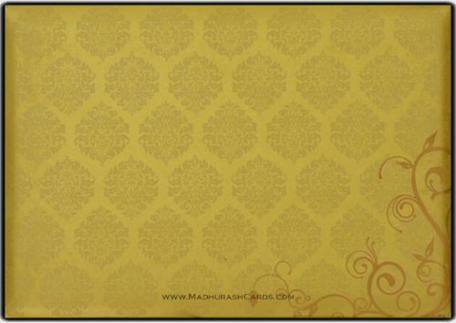 Hindu Wedding Cards - HWC-9116BG - 5