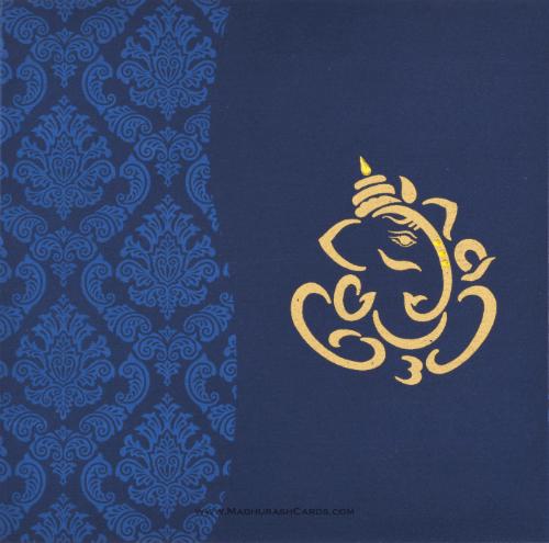 Hindu Wedding Cards - HWC-9033BG