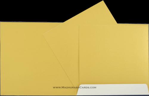 Hindu Wedding Cards - HWC-9033BG - 4