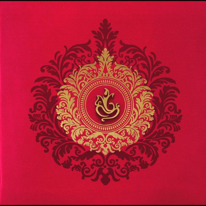 Hindu Wedding Cards - HWC-9456