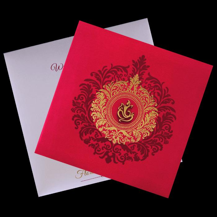 Hindu Wedding Cards - HWC-9456 - 5
