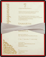 Thread Ceremony Invites - TCI-9741R