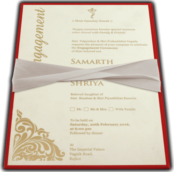 Inauguration Invitations - II-9741R - 2