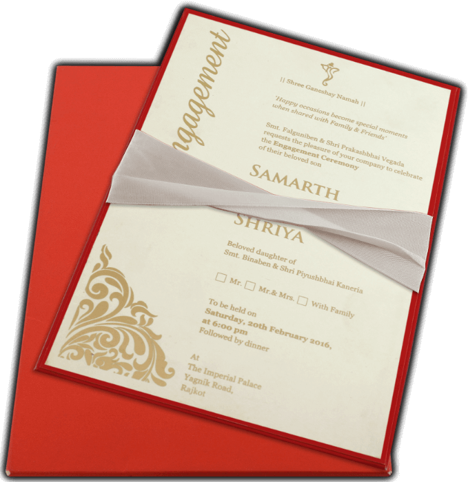 Inauguration Invitations - II-9741R - 4