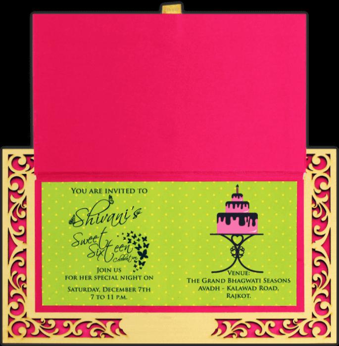Luxury Wedding Cards - LWC-8811 - 4