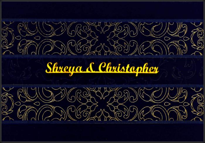 Christian Wedding Cards - CWI-9110