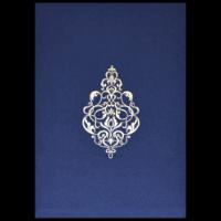 Sikh Wedding Cards - SWC-9112BG