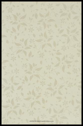 Muslim Wedding Cards - MWC-9113BG - 4