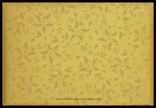Muslim Wedding Cards - MWC-9113BG - 5