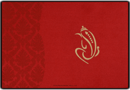 Hindu Wedding Cards - HWC-9111MG