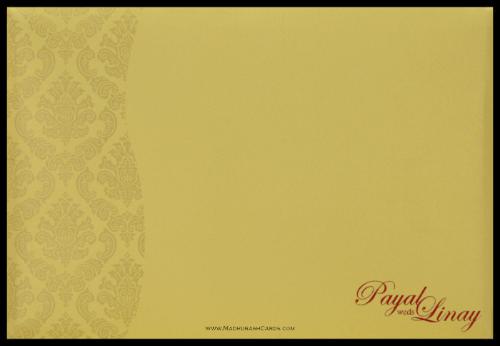Hindu Wedding Cards - HWC-9111MG - 5