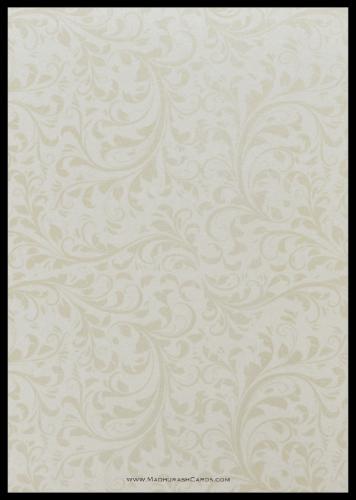 Muslim Wedding Cards - MWC-9114BG - 3