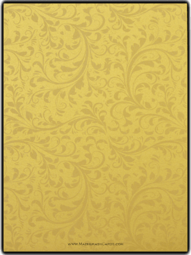 Hindu Wedding Cards - HWC-9114BG - 4