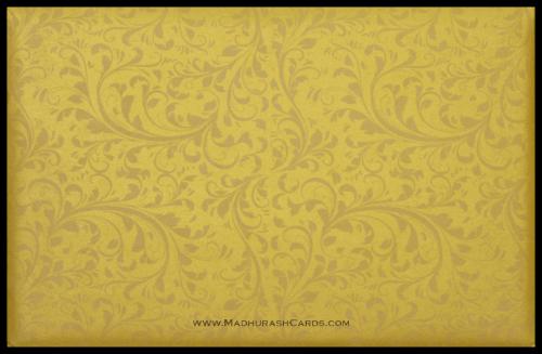 Hindu Wedding Cards - HWC-9114BG - 5