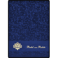 Fabric Wedding Cards - FWI-9114BG