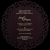 Bar & Bat-Mitzvah Invites - BBMC-9725BR