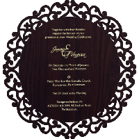 Thread Ceremony Invites - TCI-9725BR