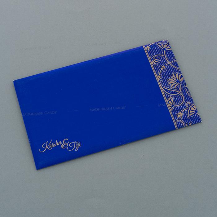 Designer Wedding Cards - DWC-17091 - 3