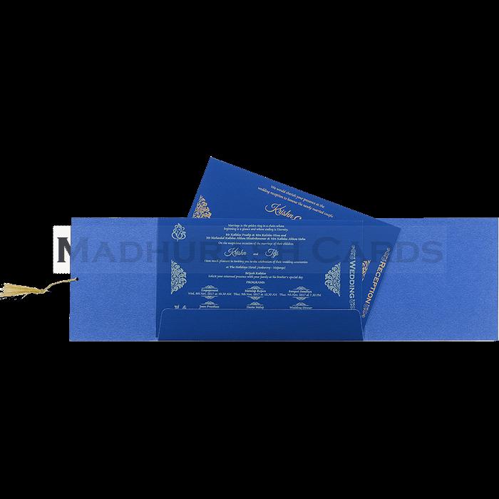Designer Wedding Cards - DWC-17091 - 5