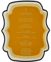 Thread Ceremony Invites - TCI-9745