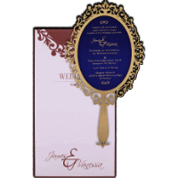 Laser Cut Invitations - LCC-9718