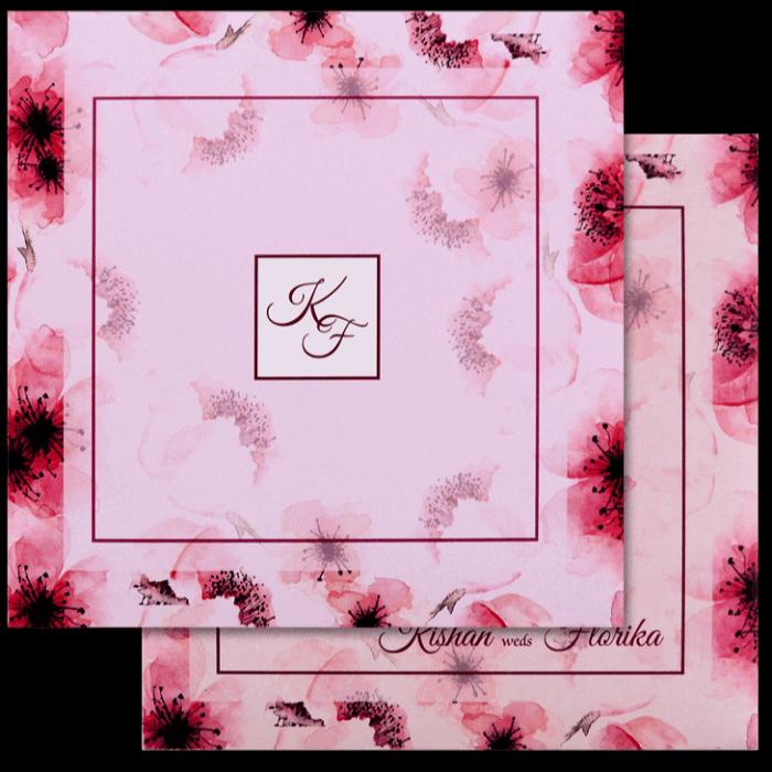 Muslim Wedding Cards - MWC-8901