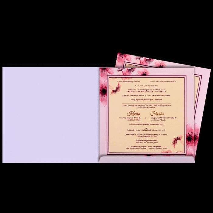 Hindu Wedding Cards - HWC-8901 - 3