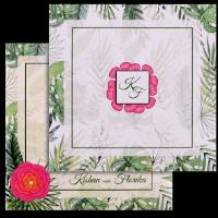 Hindu Wedding Cards - HWC-8902