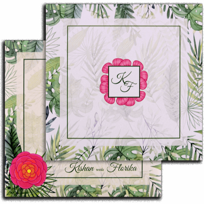 test Custom Wedding Cards - CZC-8902