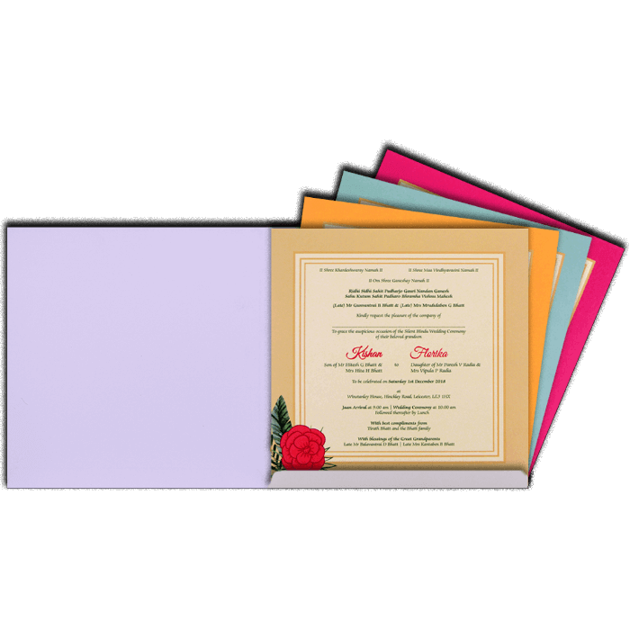Bar & Bat-Mitzvah Invites - BBMC-8902 - 3