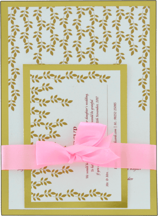 Hindu Wedding Cards - HWC-9534 - 2