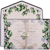 Hindu Wedding Cards - HWC-9484