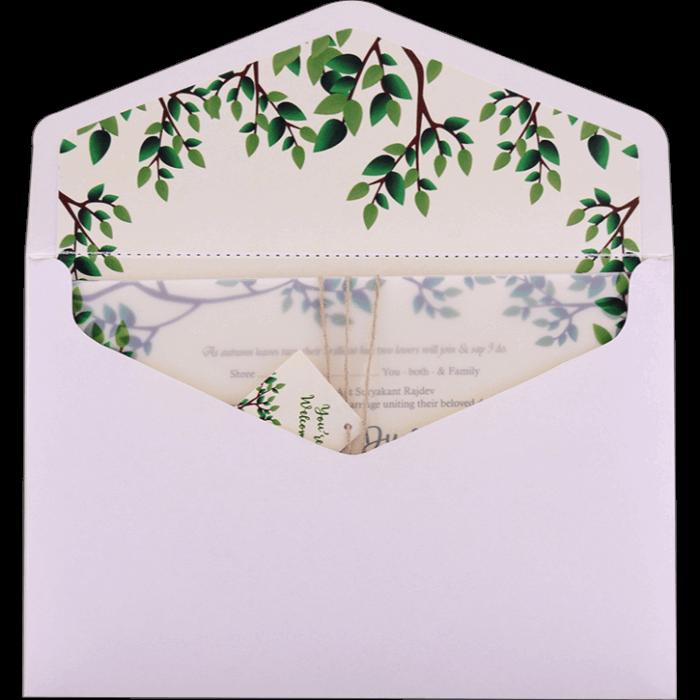 Hindu Wedding Cards - HWC-9484 - 4