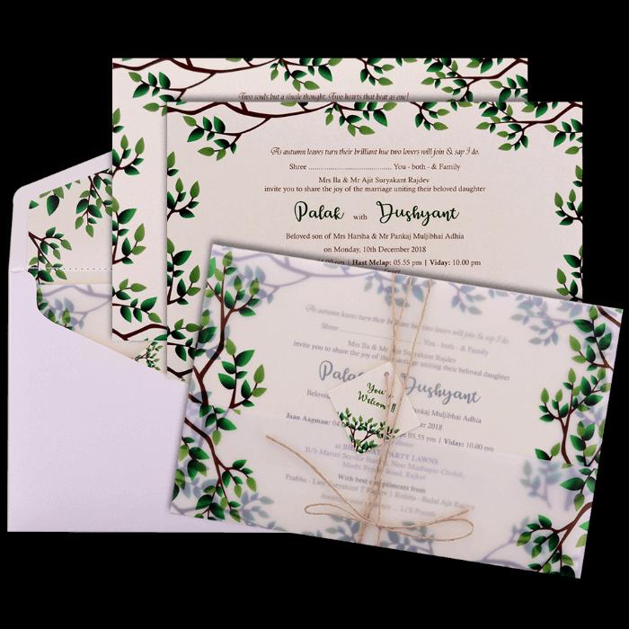 Hindu Wedding Cards - HWC-9460