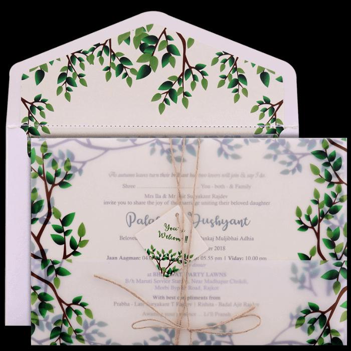 Hindu Wedding Cards - HWC-9460 - 5