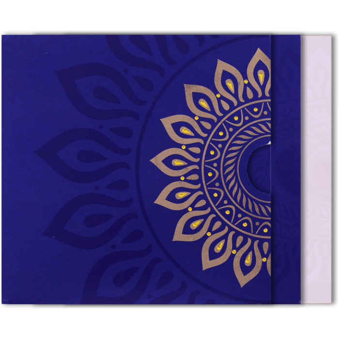 Hindu Wedding Cards - HWC-9054BC - 5