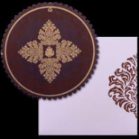 Hindu Wedding Cards - HWC-9059BRC