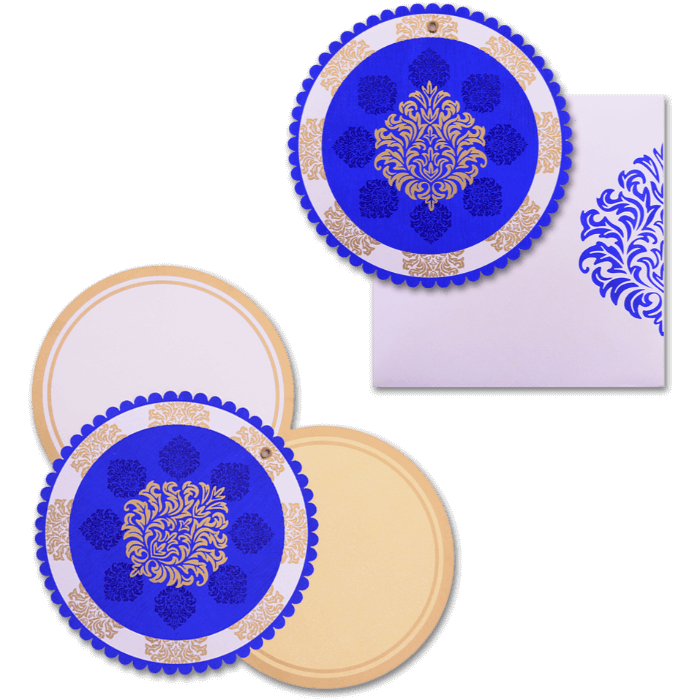Hindu Wedding Cards - HWC-9060BC - 4
