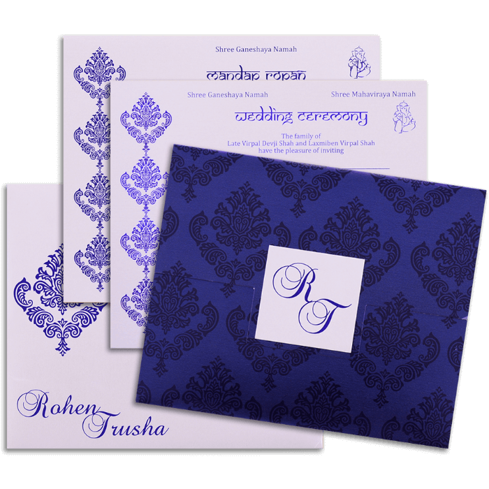 Hindu Wedding Cards - HWC-9067 - 4