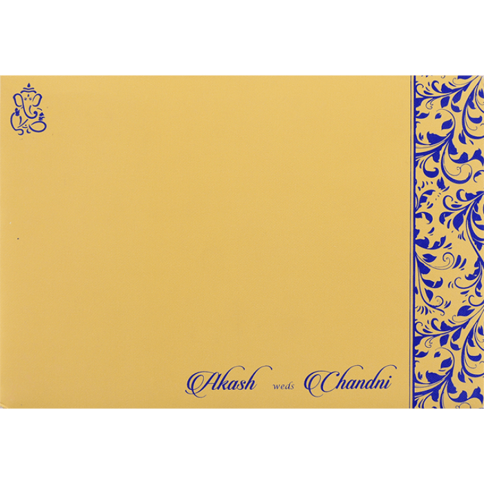 Muslim Wedding Cards - MWC-9068BG - 3