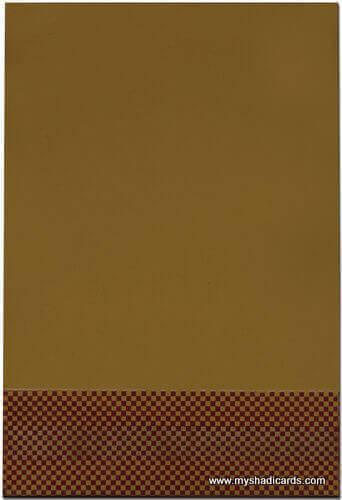 Fabric Wedding Cards - FWI-7433S - 3