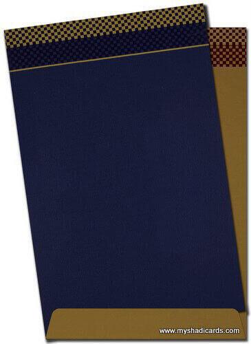 Fabric Wedding Cards - FWI-7433S - 4
