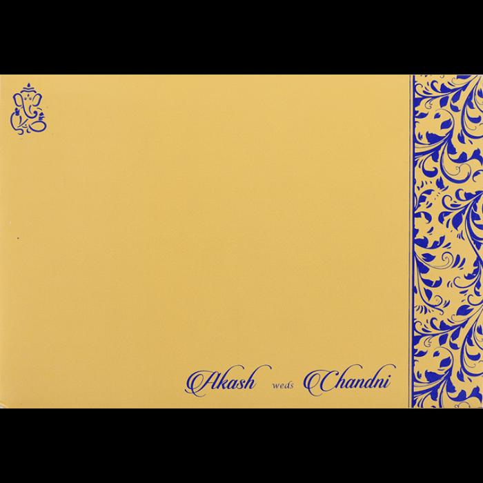 Hindu Wedding Cards - HWC-9068BG - 3