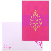 Sikh Wedding Cards - SWC-9069PG