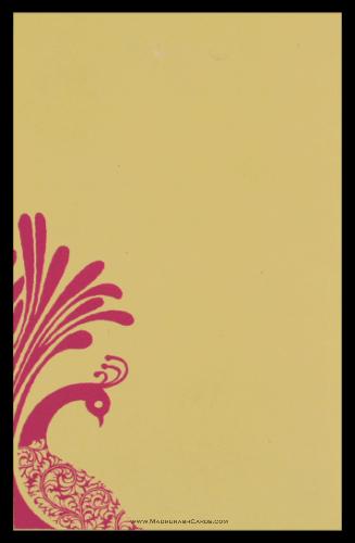 Hindu Wedding Cards - HWC-9064 - 3