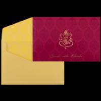 Hindu Wedding Cards - HWC-9070PG